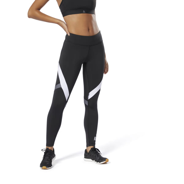 571b9b4c64dcf Reebok WOR Big Delta Tight - Schwarz