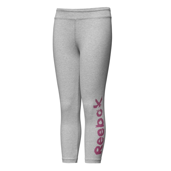 01bc2595da3a2c Reebok Girls Elements 7/8 Legging - Grey | Reebok US