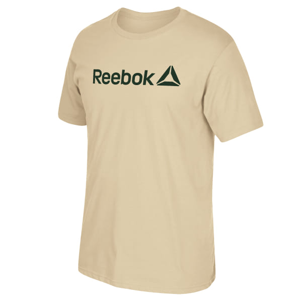 This Reebok Linear Read Tee is perfect for casual wear. 100% Ring Spun Cotton Regular fit Crew neck Imported