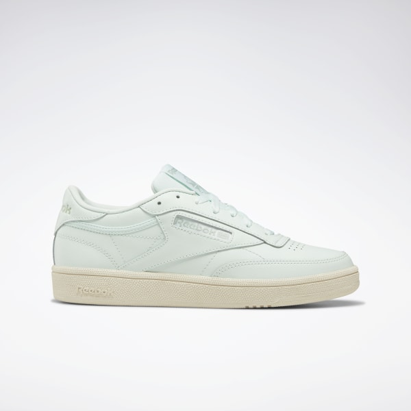 91d86ee2b5 Reebok Club C 85 Shoes - Green | Reebok MLT