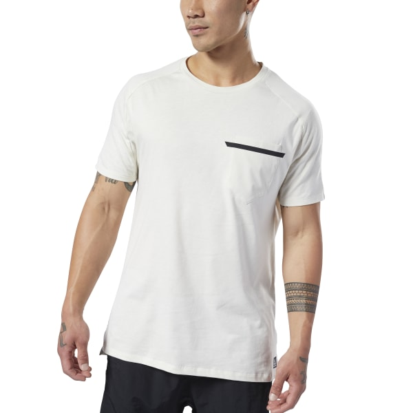 471e284a15 Reebok Training Supply Move Tee - White | Reebok Norway