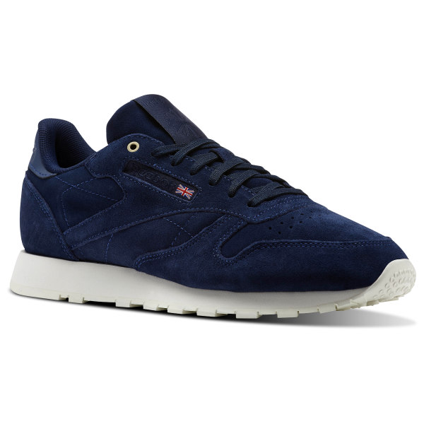 a4bbbc8f7 Classic Leather Montana Cans collaboration - Azul Reebok
