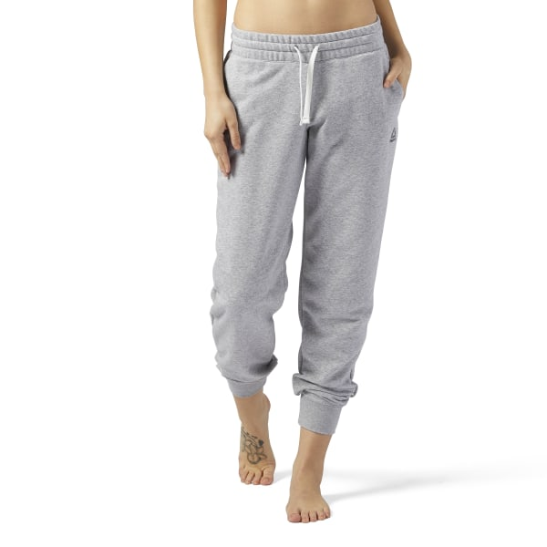 be6d40b734db Reebok Training Essentials French Terry Sweatpant - Grey