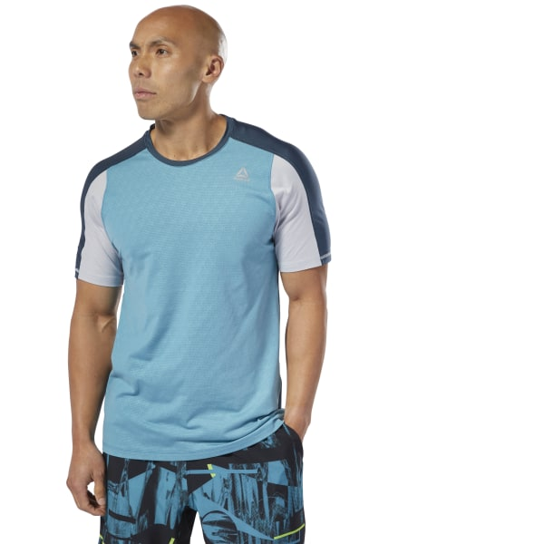 5aac325c23 Reebok Training SmartVent Move Tee - Turquoise | Reebok MLT
