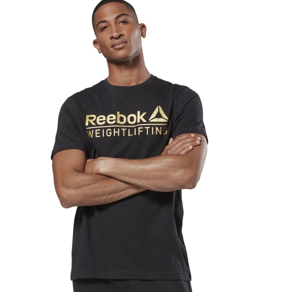 5e47dbd614 Reebok Weightlifting Tee - Black | Reebok Norway