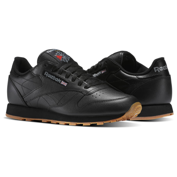 d6f32b24 Reebok Classic Leather - Black | Reebok Canada