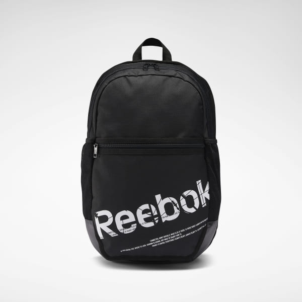 0c28a4fb82 Reebok Workout Ready Active Graphic Backpack - Black | Reebok MLT