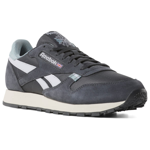 outlet store eafe8 2744c Reebok Classic Leather - Grey | Reebok GB