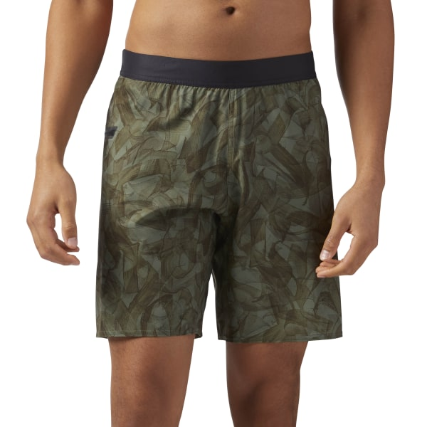 abe48ee0e4 Reebok CrossFit Speed Shorts - Green | Reebok MLT
