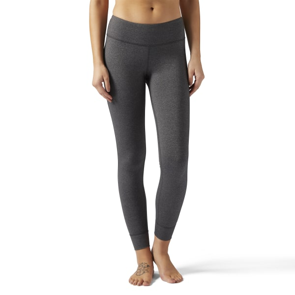 e31f213fd8b7fd Reebok Lux Leggings Dark Grey Heather BP7233