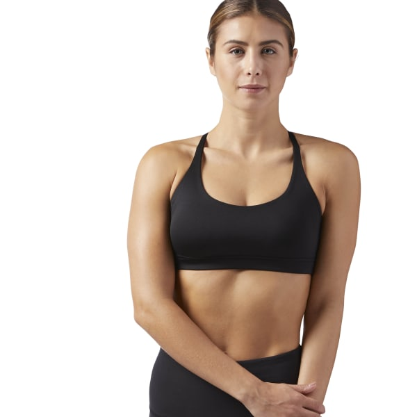 db6ec53293 Reebok Workout Ready Bra - Black | Reebok US