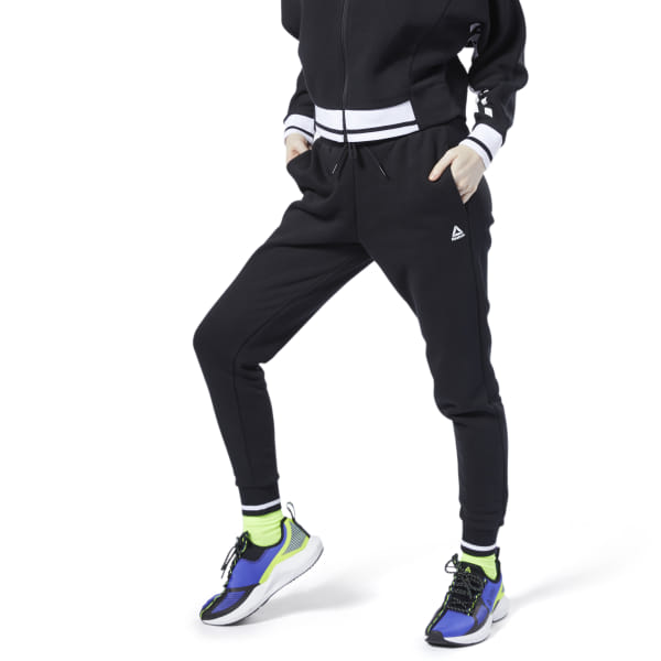 0bc2fc84db Reebok Meet You There Track Pants - Black | Reebok MLT