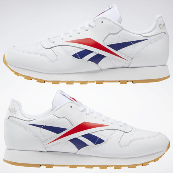 Reebok Classic Leather Vector Shoes White | Reebok GB