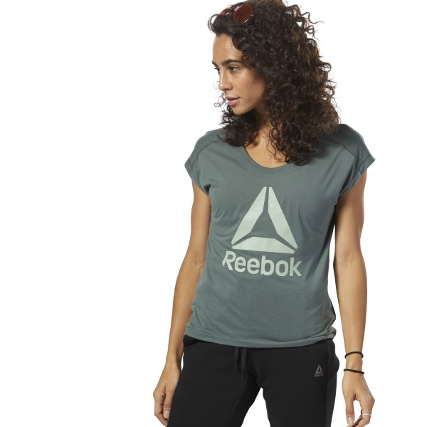 83c4143fa8 Reebok Workout Ready Supremium 2.0 T-Shirt - Green | Reebok MLT