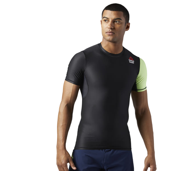 a838d9dfa5 Reebok CrossFit Games Compression Tee - Black | Reebok MLT