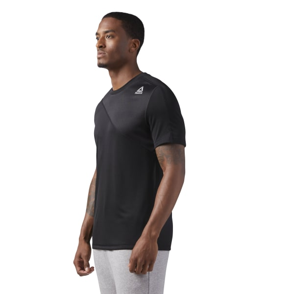 56f5d982 Reebok Workout Ready Tech T-Shirt - Black | Reebok Canada