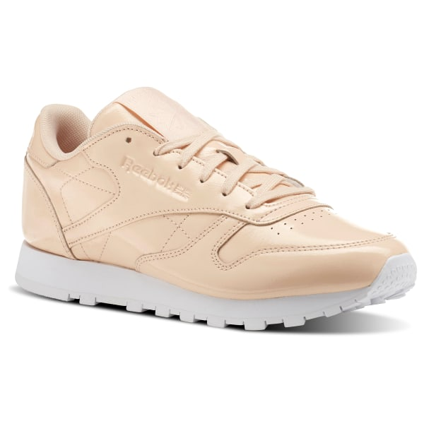 Reebok Classic Leather PATENT Rose | Reebok France