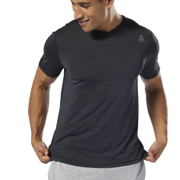 906437baee Reebok Training ACTIVCHILL Move Tee - Black | Reebok Norway