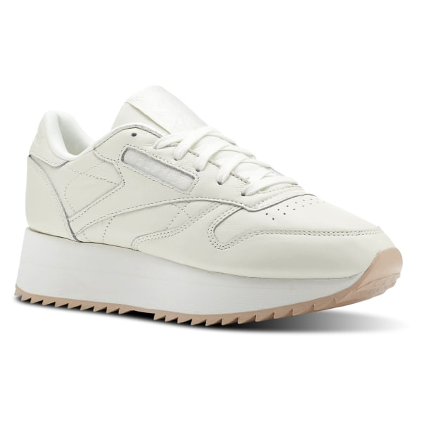 1d7766420ade Classic Leather Double Double-Chalk / Bare Beige CN5491