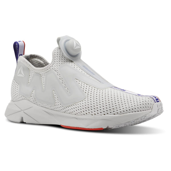 459359cb8f194 Reebok Pump Supreme Jacquard Tape Skull Grey   Blue Move   Carotene   White  CN4608