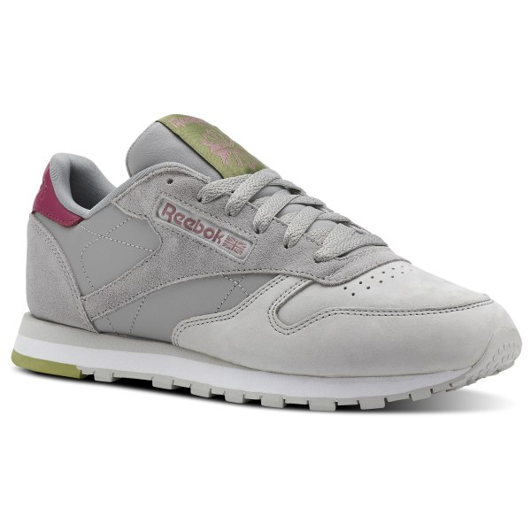 Reebok Classic Leather Gris | Reebok France