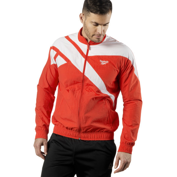 bff18d23 Reebok Archive Vector Tracktop - Red | Reebok GB