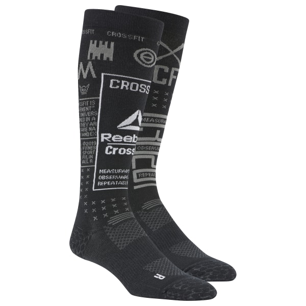 0d07684522d Reebok CrossFit® Compression Knee Socks - Black