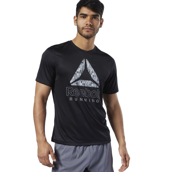 3900fd278f Reebok Graphic Tee - Black | Reebok Norway