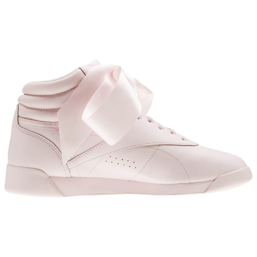 Reebok Freestyle Hi Satin Bow