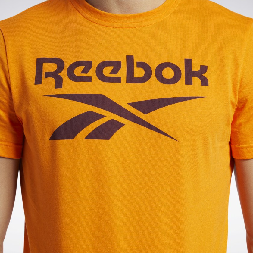 Reebok-Men-039-s-Graphic-Series-Stacked-Tee thumbnail 83