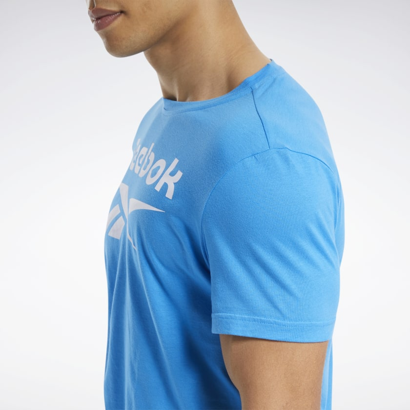 thumbnail 69 - Reebok Men's Graphic Series Stacked Tee
