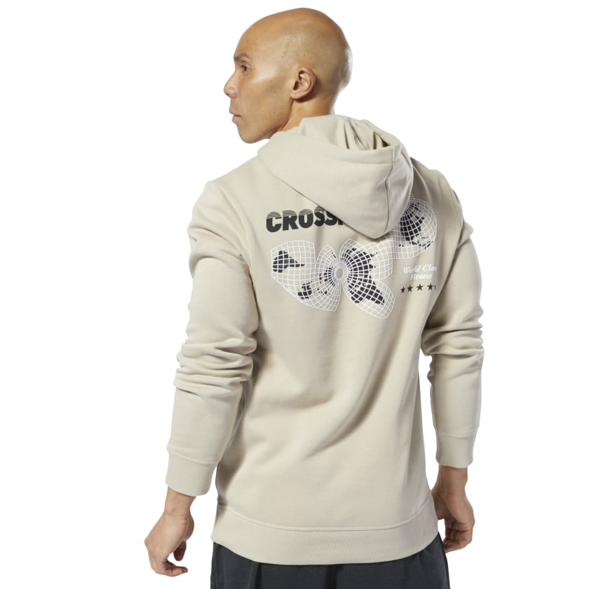 Reebok-Men-039-s-CrossFit-World-Class-Hoodie thumbnail 26