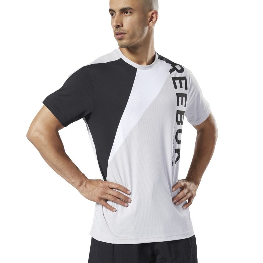 Reebok Men's One Series Training Colorblock T-Shirt