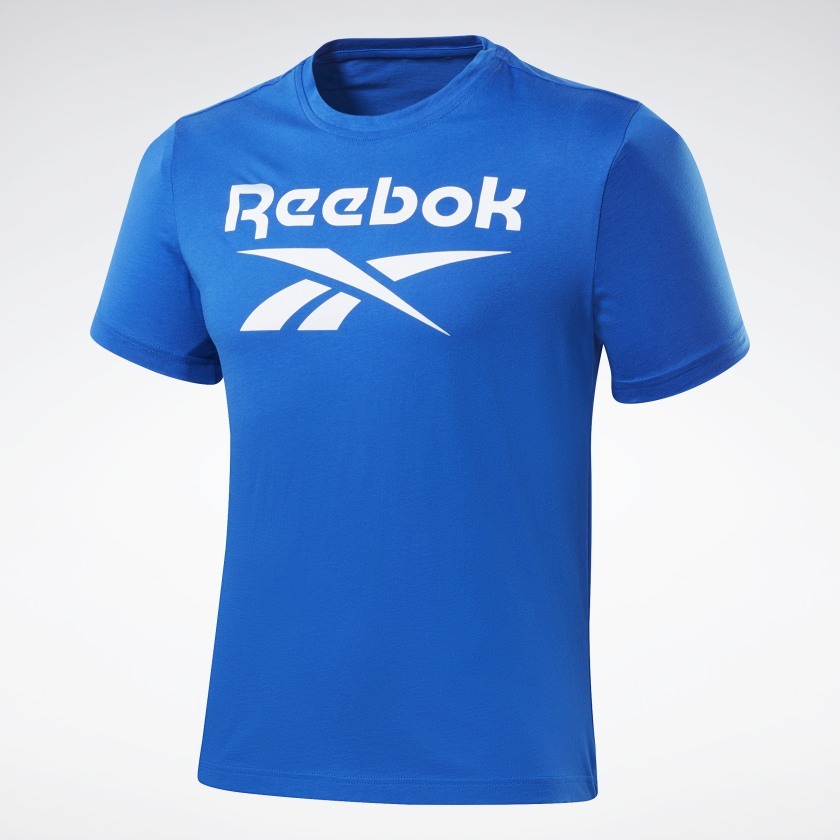 Reebok-Men-039-s-Graphic-Series-Stacked-Tee thumbnail 20