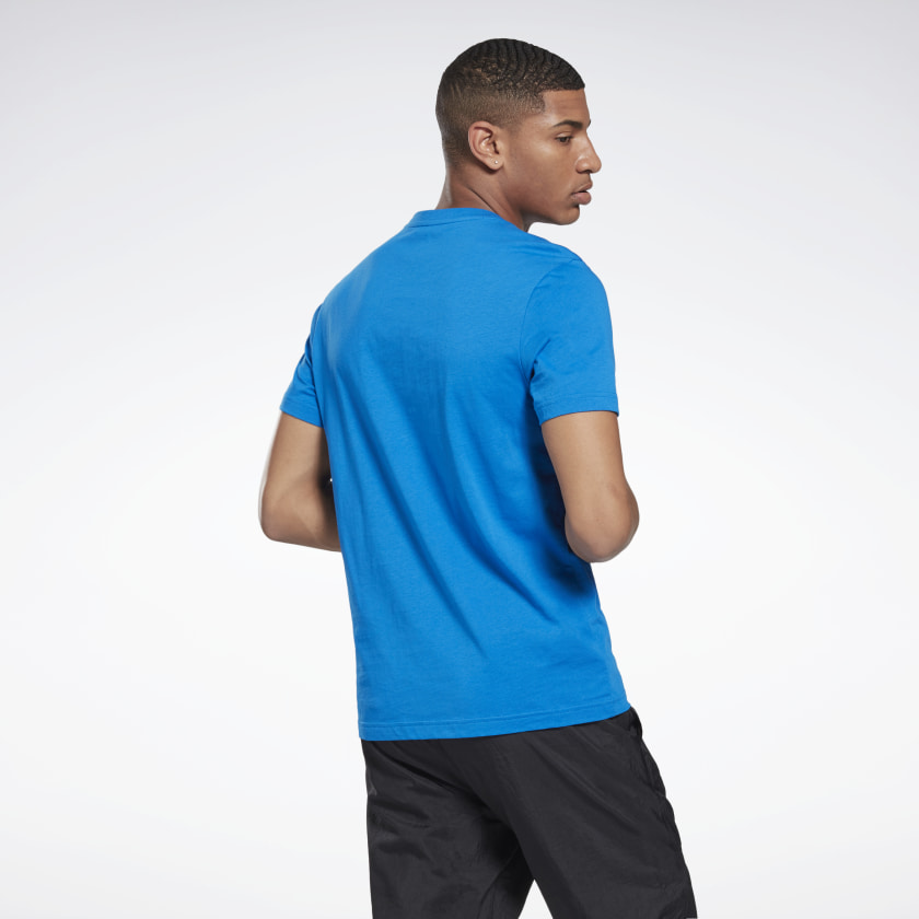 thumbnail 27 - Reebok Men's Graphic Series Stacked Tee