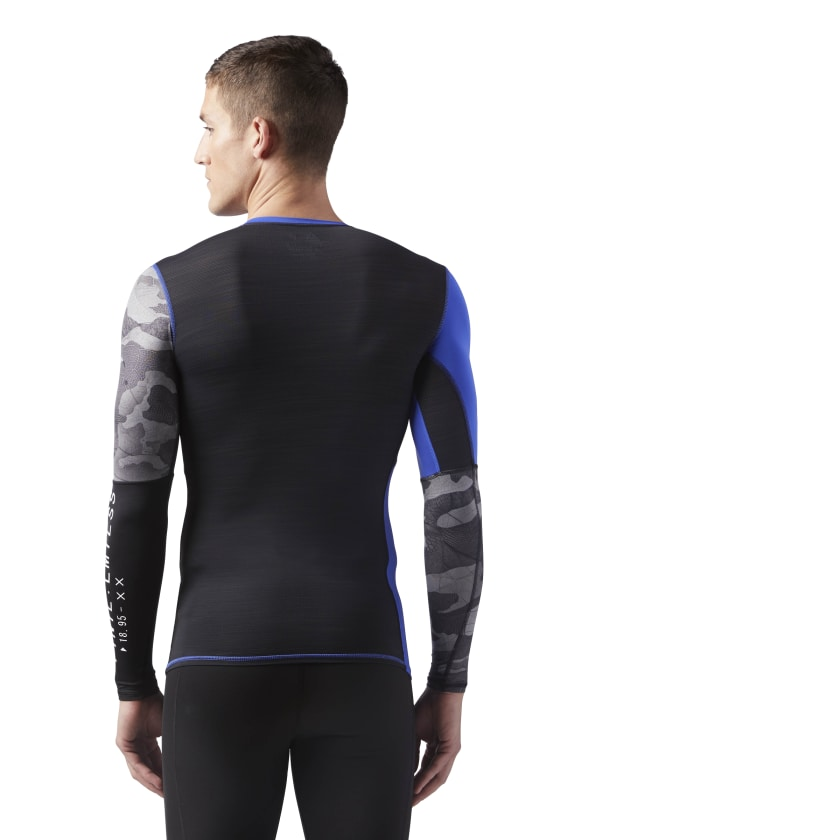 ACTIVCHILL Graphic Long Sleeve Compression Shirt