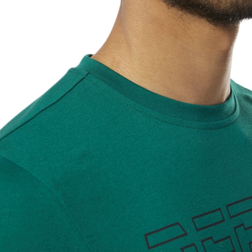Reebok-Men-039-s-Graphic-Series-Foundation-Tee miniature 11