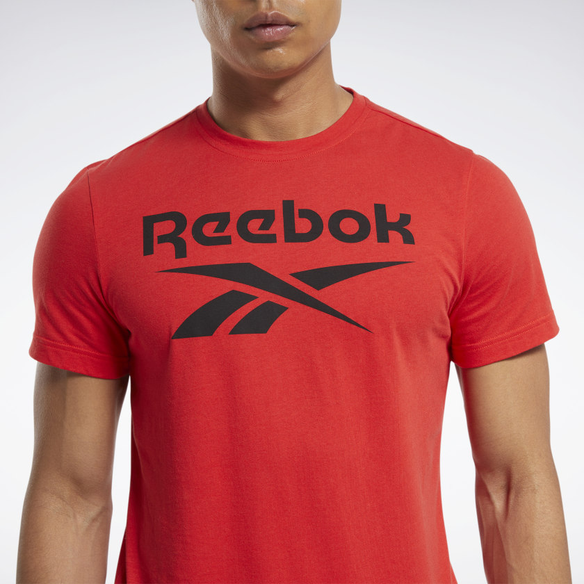 thumbnail 20 - Reebok Men's Graphic Series Stacked Tee