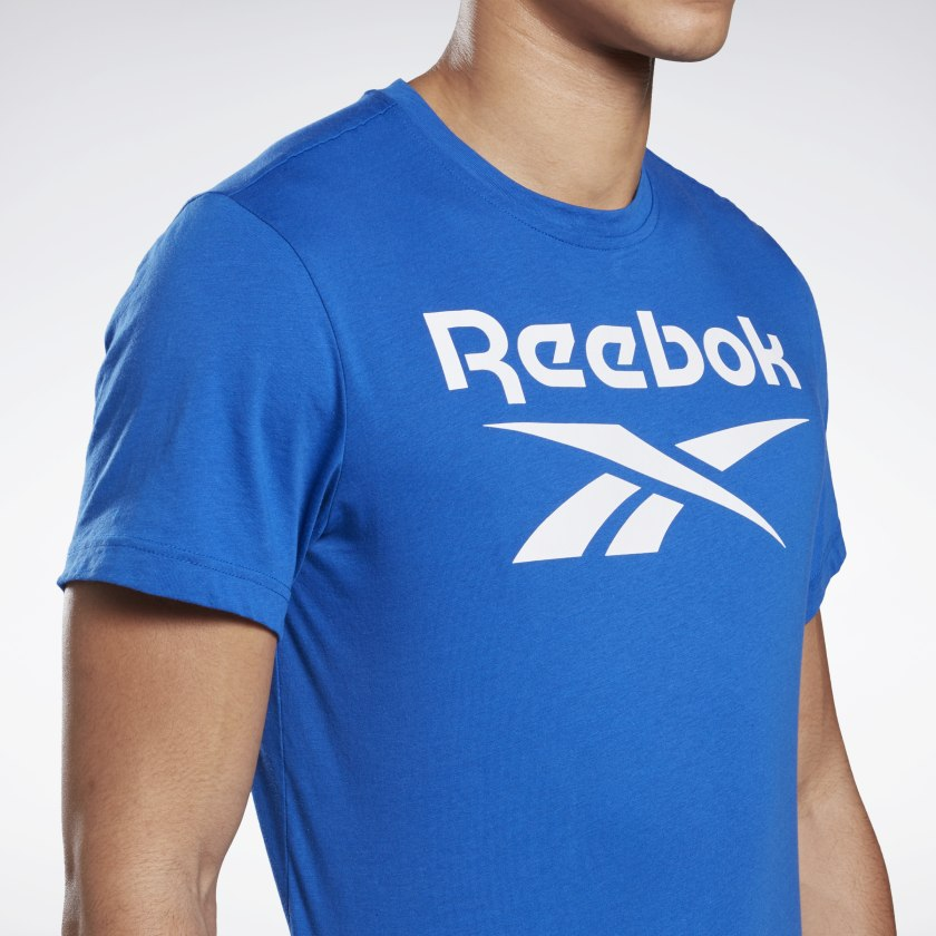 Reebok-Men-039-s-Graphic-Series-Stacked-Tee thumbnail 21
