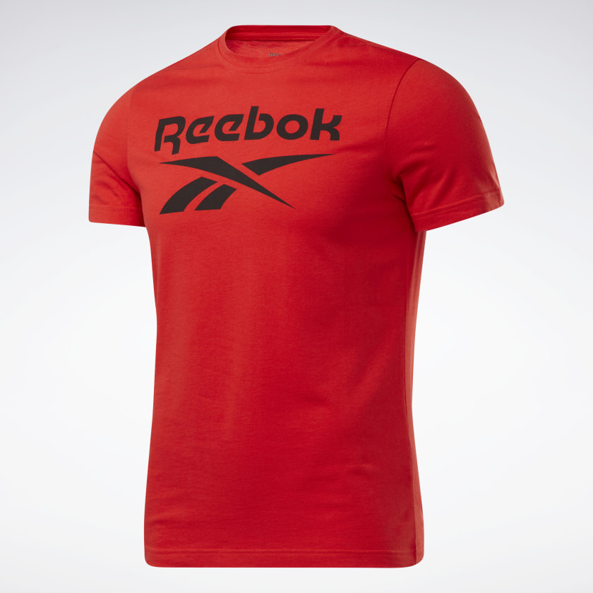 thumbnail 23 - Reebok Men's Graphic Series Stacked Tee