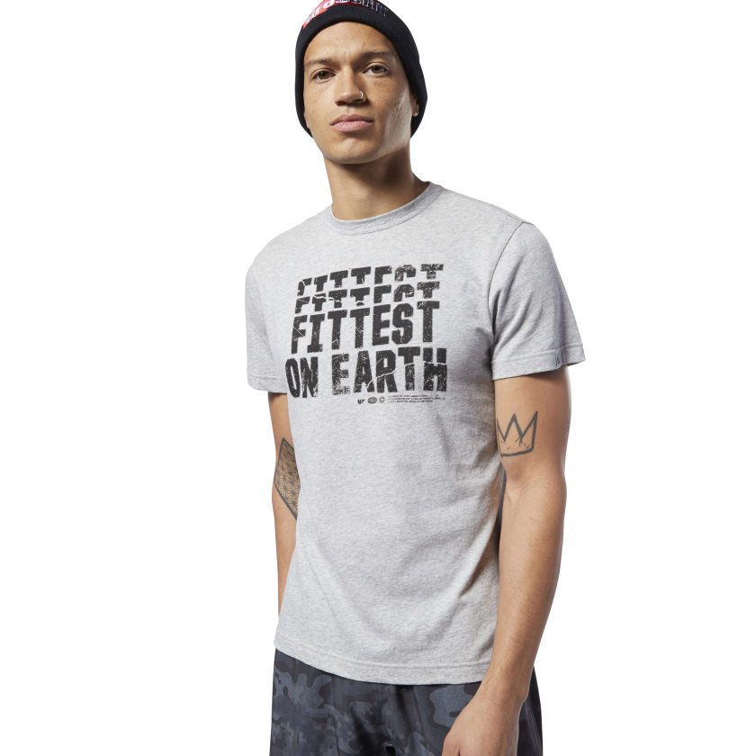 Reebok-Men-039-s-CrossFit-Fittest-On-Earth-Tee thumbnail 13