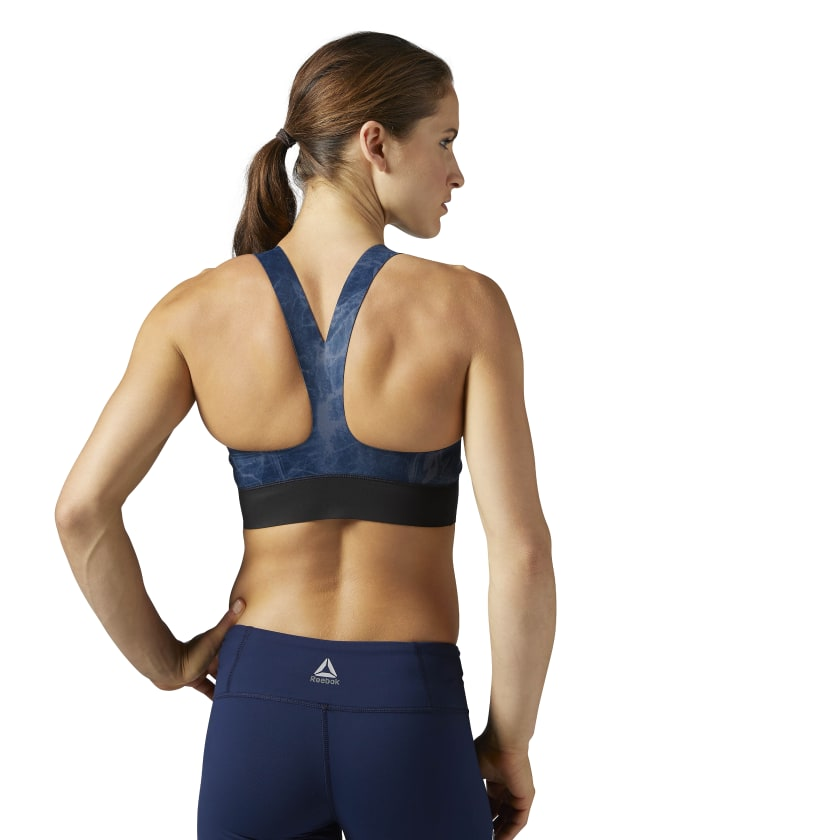 Reebok Combat Smoothgrip Fight Sports Bra