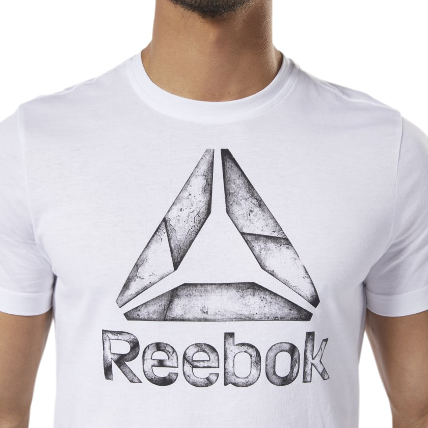 Reebok-Men-039-s-One-Series-Training-Black-Ice-Tee thumbnail 12