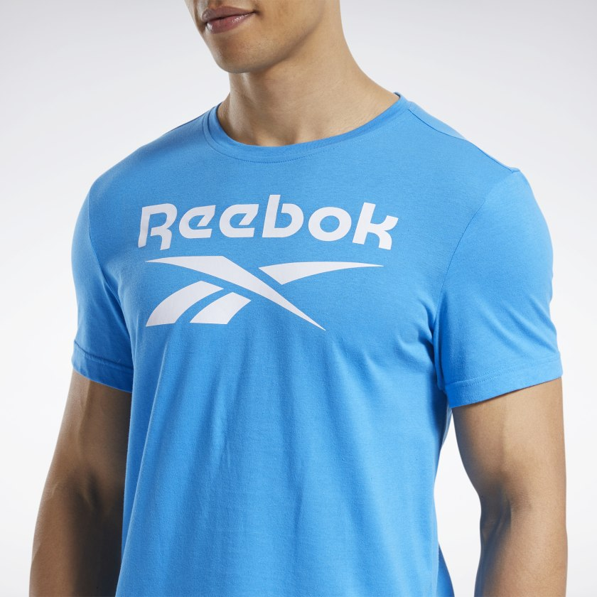 thumbnail 68 - Reebok Men's Graphic Series Stacked Tee