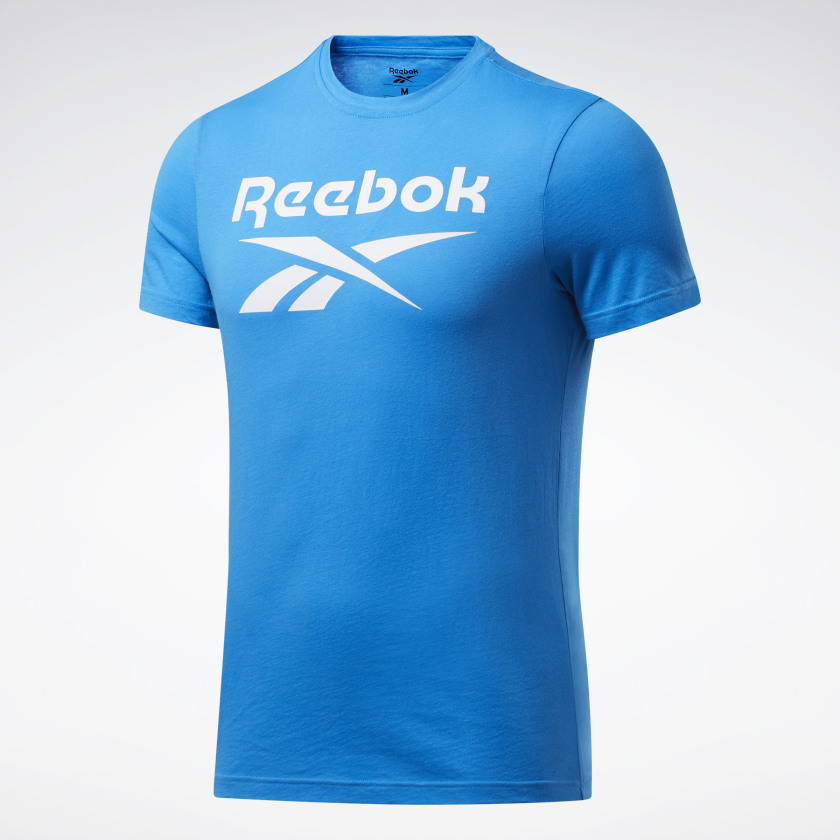 thumbnail 71 - Reebok Men's Graphic Series Stacked Tee