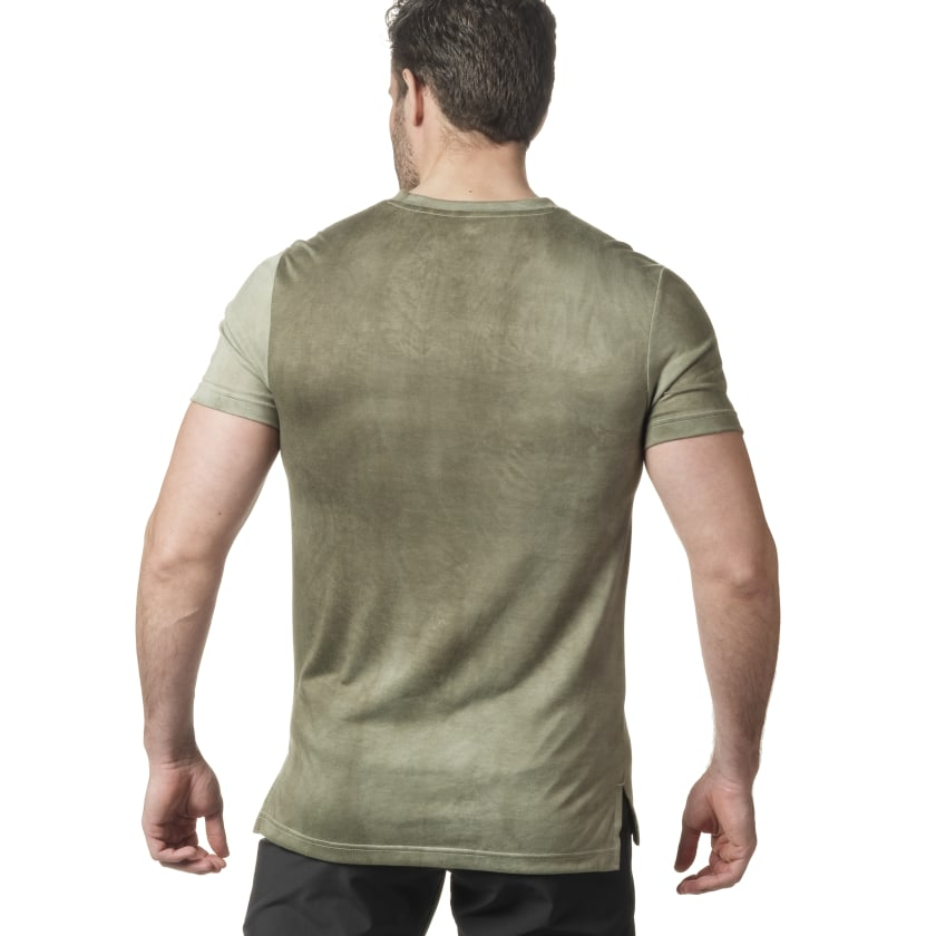 T-shirt Reebok Combat Spray Dye
