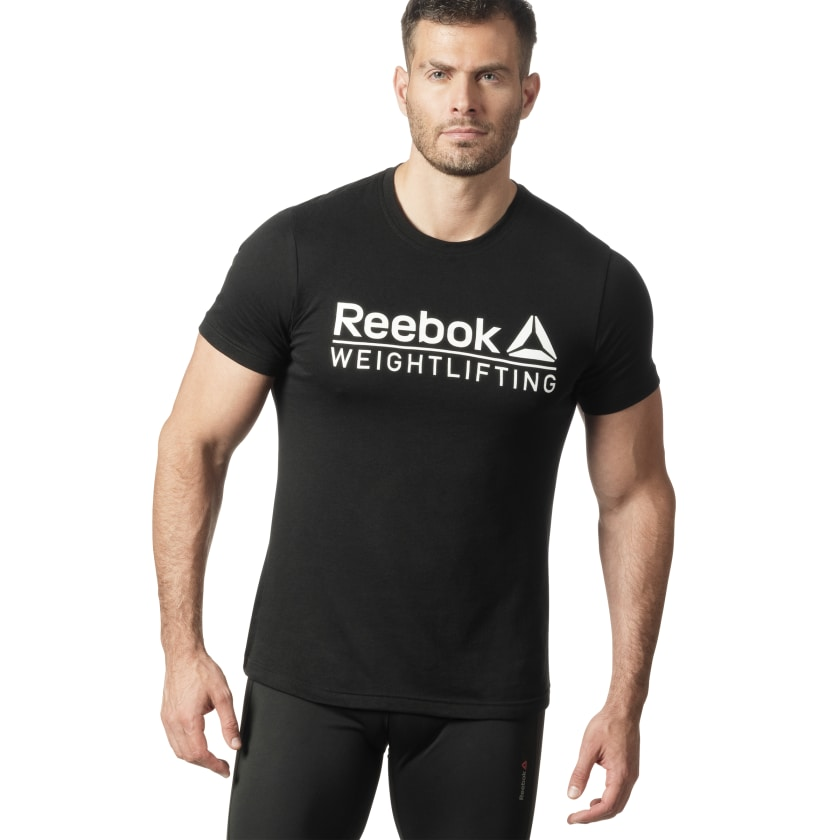 Reebok-Men-039-s-Weightlifting-Tee thumbnail 25