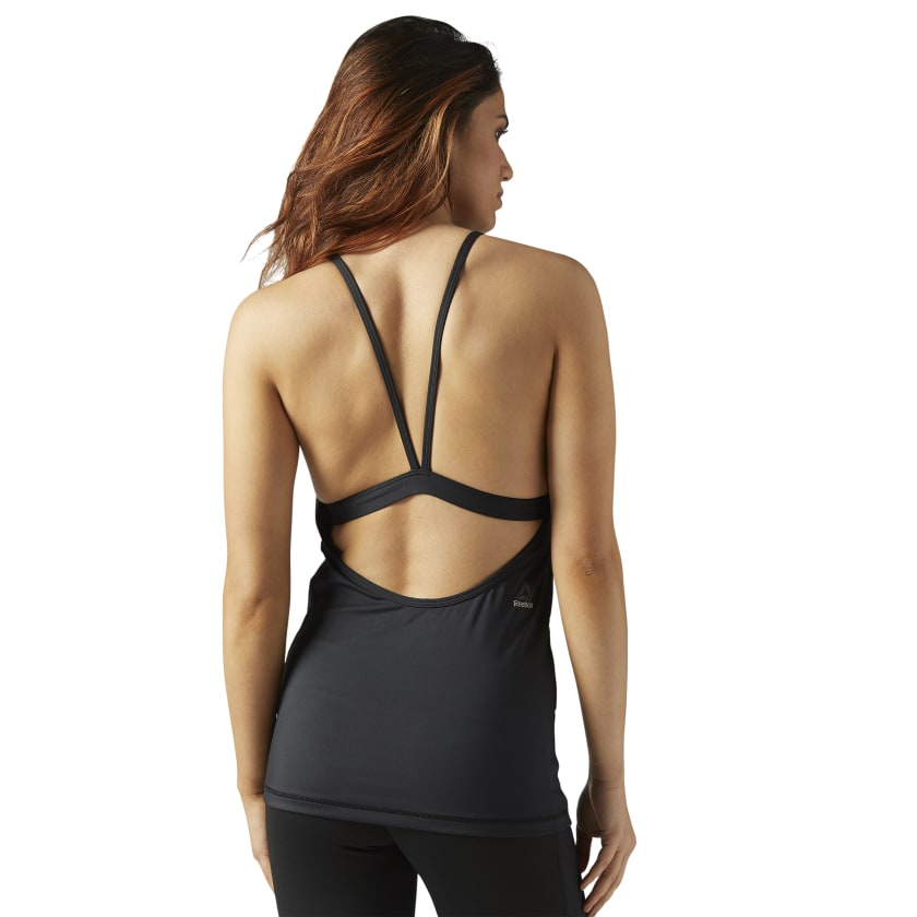 LES MILLS® Tank With Built In Padded Sports Bra