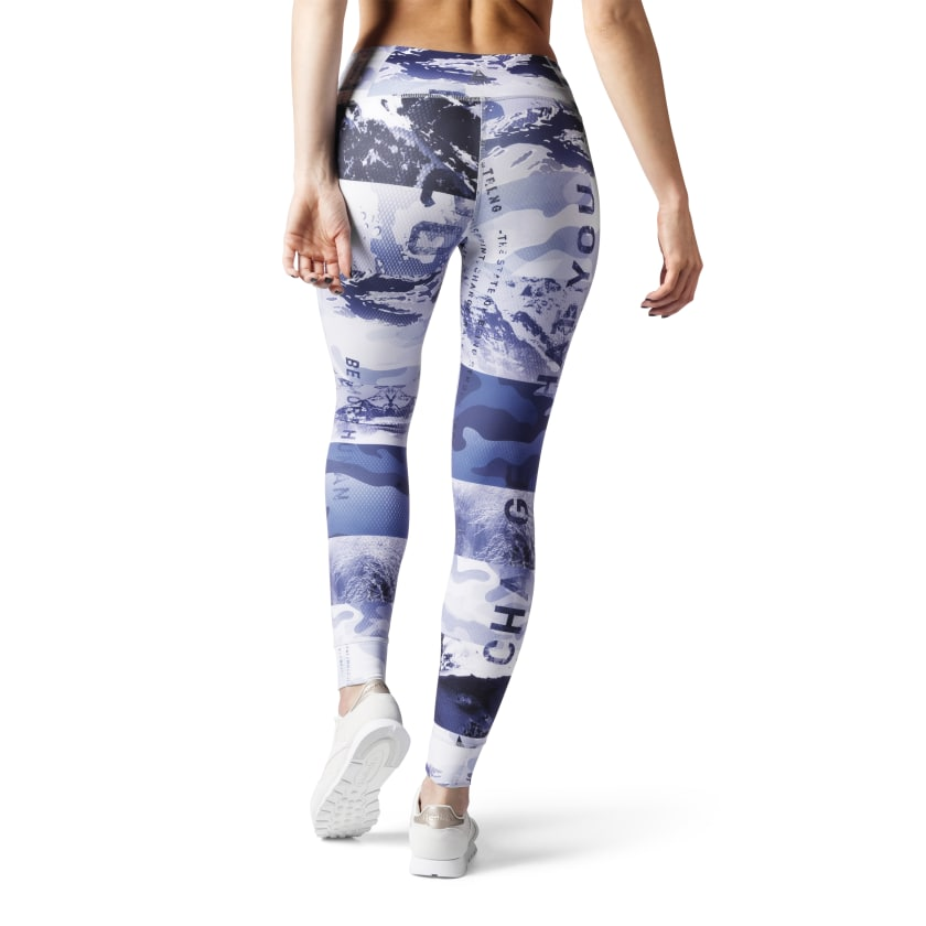 ONE SERIES LUXE WINTER ALL-OVER-PRINT TIGHT