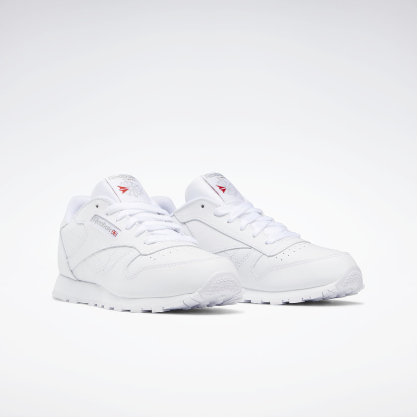 Reebok-Kids-039-Classic-Leather-Shoes-Grade-School thumbnail 22